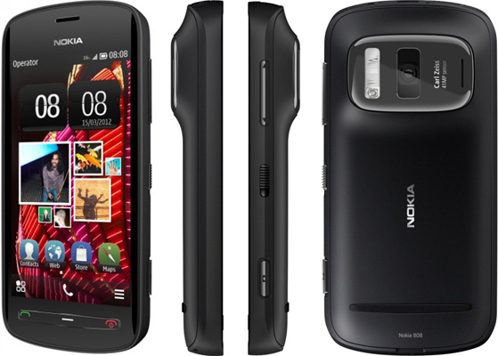 Смартфон Nokia 808 PureView Black