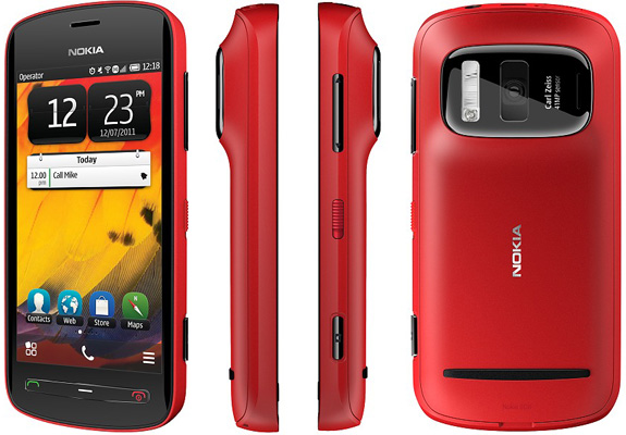 Смартфон Nokia 808 PureView Red