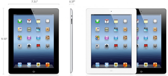 Планшет Apple iPad 2012