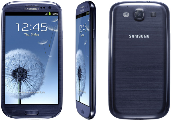 Фото смартфона Samsung i9300 Galaxy S III Black-Blue
